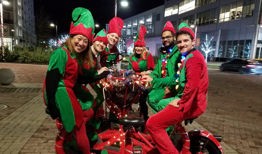 Book Your Holiday Beer Bike Tour: Pedal in Some Fun For the Whole Family!