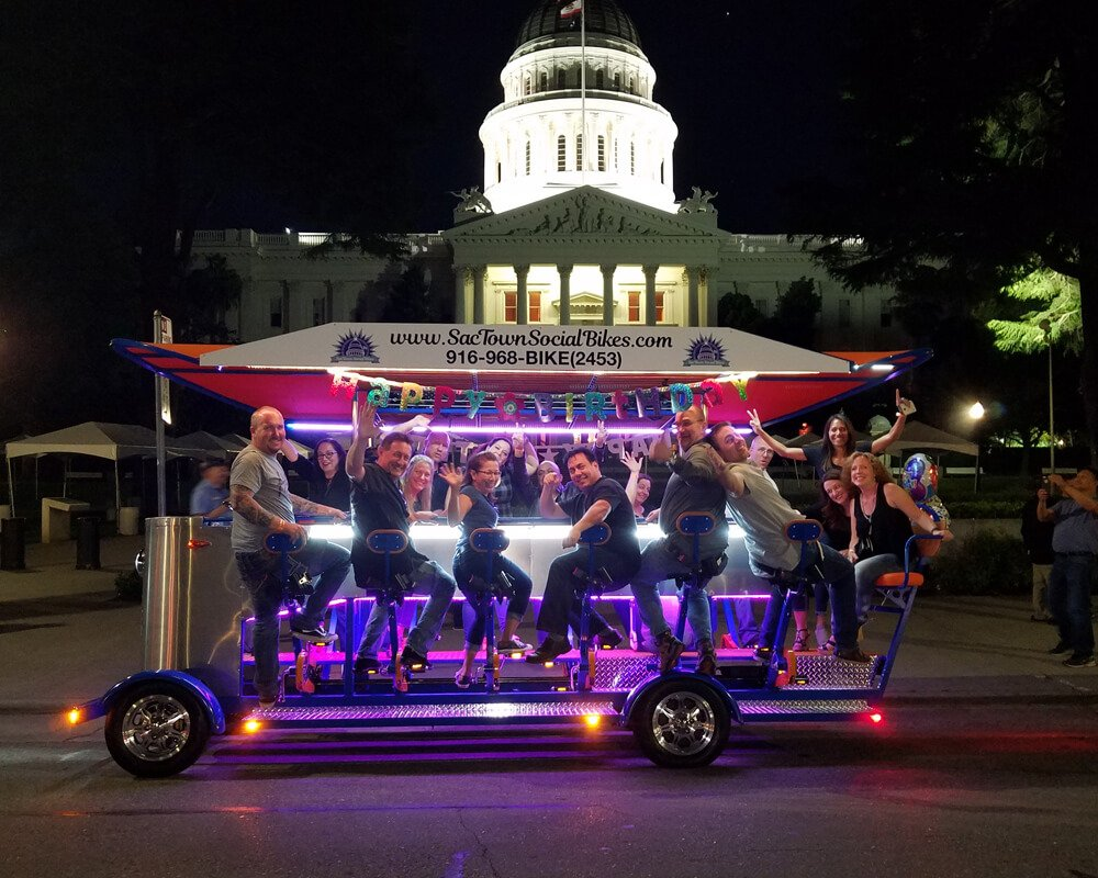 Midsummer Beer Bike Tours in Sacramento